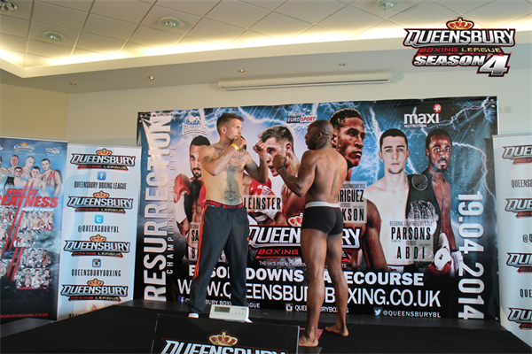 QUEENSBURY WEIGH IN