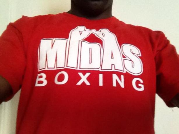 MIDAS BOXING T-SHIRT 2