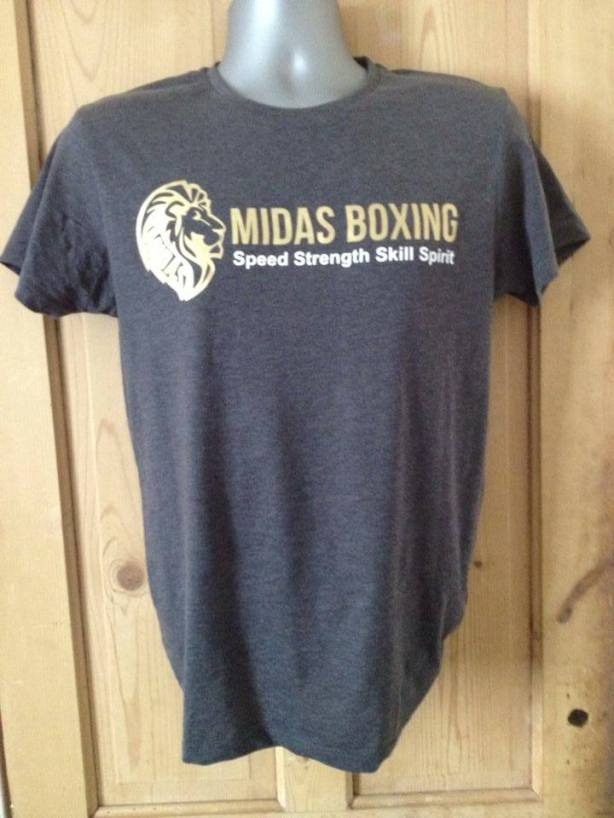 MIDAS BOXING T-SHIRT LION
